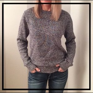 Black + White Warm Sweater